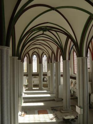 Bsp. Leitung einer Restaurierung: Nikolaikirche Berlin, Foto © Jan Raue 2009
