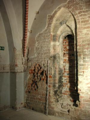 Kloster Neuzelle, Refektorium, mittelalterliches Fenster, Foto (c) Jan Raue 2007